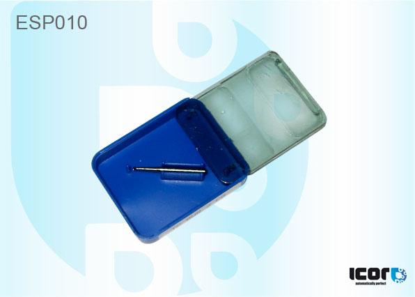 "ESP010 <h2 class=""AHS12B"" lang=""en"">TUNGSTEN DRILL BUR 1 mm. TIP (BLUE BOX)</h2><br /><h2 class=""AHS12B"" lang=""de"">BOHRER FÜR BOHRMACHINE REPARATUR SET 1mm. (BLAU)</h2><br /><h2 class=""AHS12B"" lang=""fr"">MECHE POUR FOREUSE KIT REPARATION 1mm. (BOITE BLEUE)</h2><br /><h2 class=""AHS12B"" lang=""es"">MECHE PARA TALADRO 1 mm. (CAJA AZUL)</h2><br /><h2 class=""AHS12B"" lang=""nl"">BOOR 1.0 mm (BLAUWE BOX)</h2><br />"
