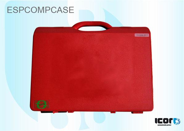 "ESPCOMPCASE <h2 class=""AHS12B"" lang=""en"">PLASTIC COMPACT CASE. COLOUR RED</h2><br /><h2 class=""AHS12B"" lang=""de"">ROTE KUNDSTOFFKOFFER</h2><br /><h2 class=""AHS12B"" lang=""fr"">MALETTE (COMPACT) ROUGE PLASTIQUE</h2><br /><h2 class=""AHS12B"" lang=""es"">MALETA PLASTICA COLOR ROJO</h2><br /><h2 class=""AHS12B"" lang=""nl"">MATERIAALKOFFER PLASTIEK ROOD</h2><br />"