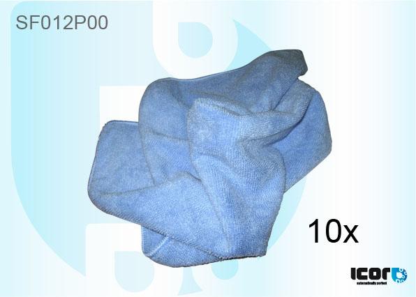 """SF012P00 <h2 class=""""AHS12B"""" lang=""""en"""">MICROFIBER CLOTH 40CM X 40CM BLUE - PACK OF 10</h2><br /><h2 class=""""AHS12B"""" lang=""""de"""">MICROFASER TUCH 40CM X 40CM BLAU - 10 ST.</h2><br /><h2 class=""""AHS12B"""" lang=""""fr"""">TISSUS MICROFIBRE 40CM X 40CM BLEU - PAQUET DE 10</h2><br /><h2 class=""""AHS12B"""" lang=""""es"""">PAÑO MICROFIBRA 40CM X 40CM AZUL - 10 UNIDADES</h2><br /><h2 class=""""AHS12B"""" lang=""""nl"""">MICROVEZEL DOEK 40CM X 40CM BLAUW - PAK VAN 10</h2><br />"""